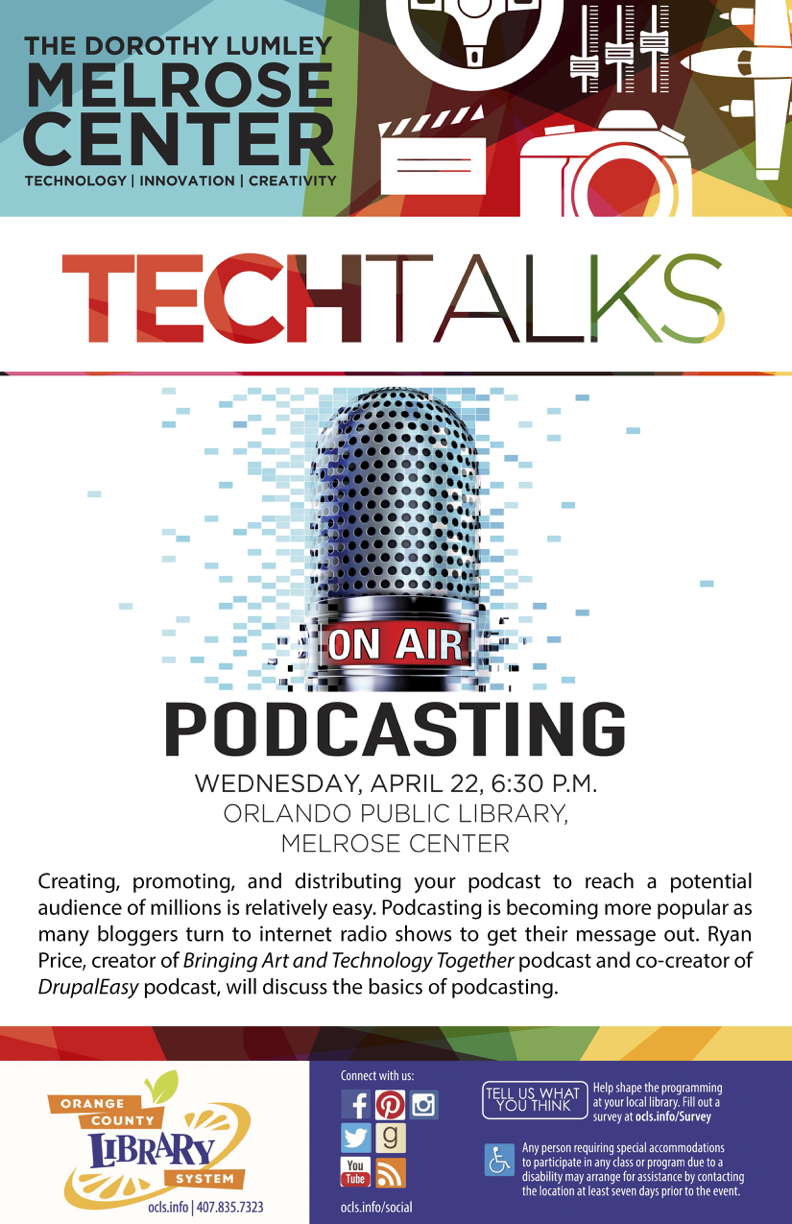 Tech Talk Podcasting