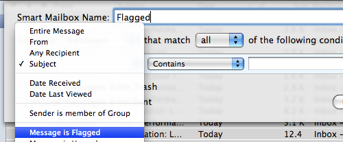 Flagged Filter